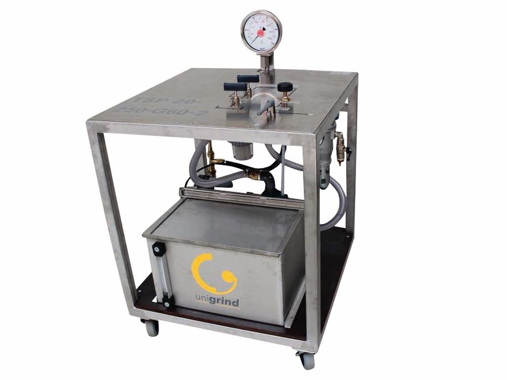 pompe per test idrostatici