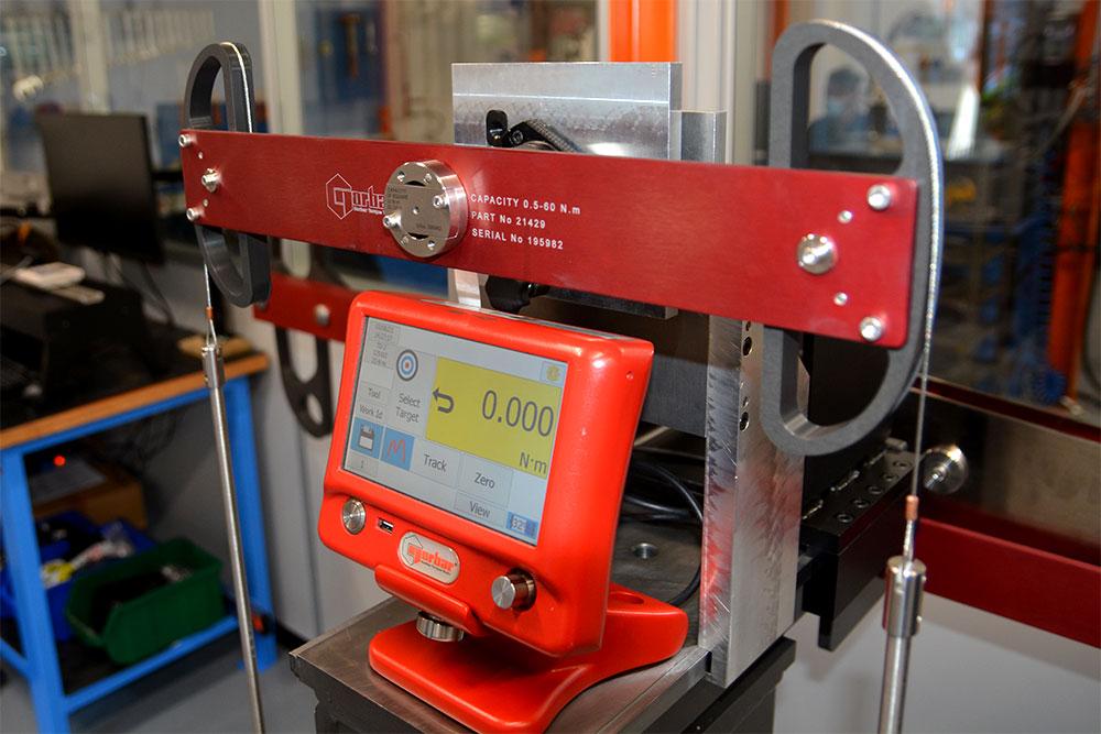 banco calibrazione trasduttori