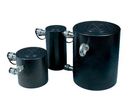 cilindri idraulici con ritorno a olio